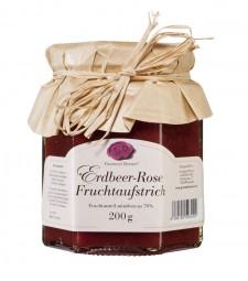Erdbeer-Rose-Fruchtaufstrich (Gourmet Berner)