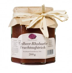 Erdbeer-Rhabarber-Fruchtaufstrich (Gourmet Berner)
